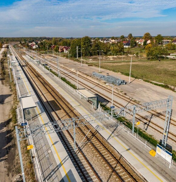 Linia kolejowa Warszawa-Lublin