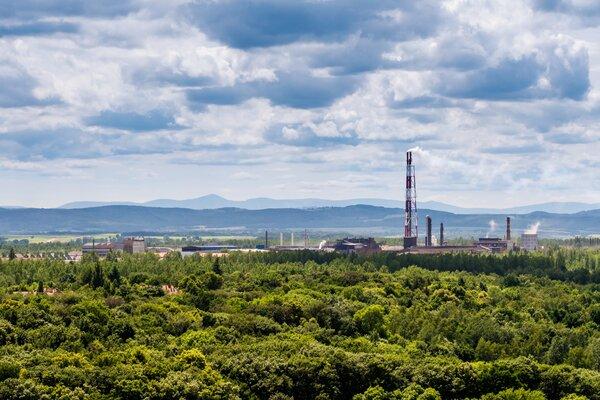La planta metalúrgica de cobre Legnica