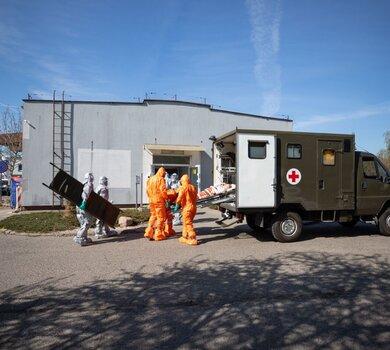 Ewakuacja Domu Pomocy Społecznej SALUS w Kaliszu, 12 Wielkopolska Brygada OT