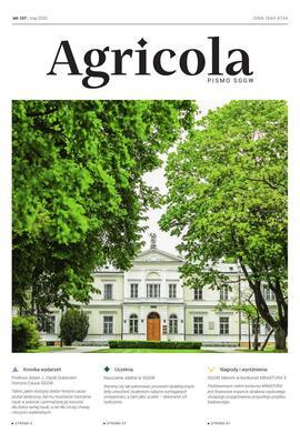 Agricola nr 107 maj 2020