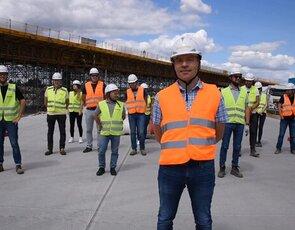 #gaszynchallenge BUDIMEX na budowie A1 Tuszyn - Piotrków