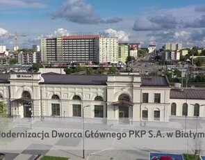 Modernizacja dworca PKP SA. w Białymstoku