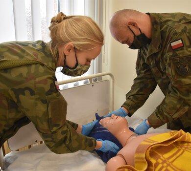 Szkolenie w opiece nad pacjentami leżącymi