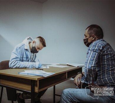 Wcielenie ochotników do służby w WOT