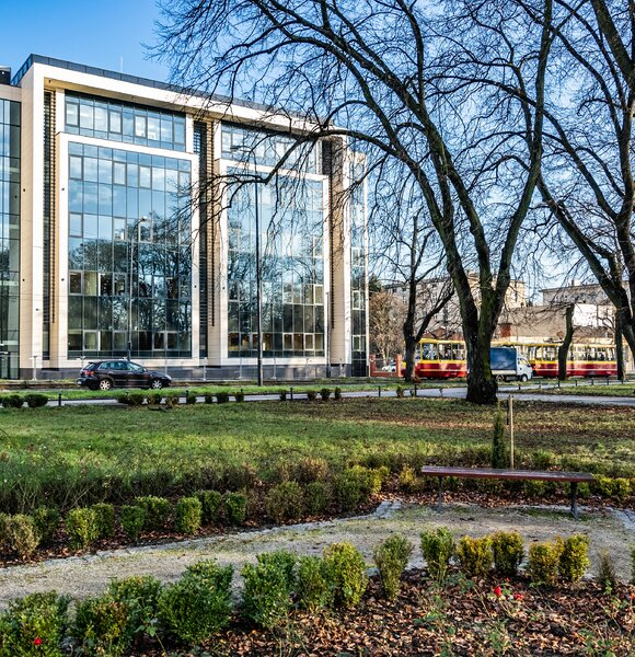 Alchemium - pierwszy etap, budowa centrum konferencyjno - dydaktycznego Politechniki Łódzkiej