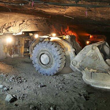 La planta minera de Rudna