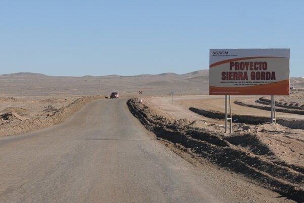 Sierra Gorda Chile