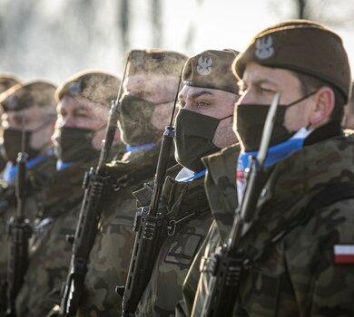 Przysięga w 4 Warmińsko-Mazurskiej Brygadzie OT