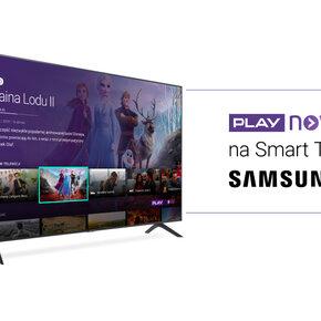 Aplikacja PLAY NOW na Smart TV Samsung