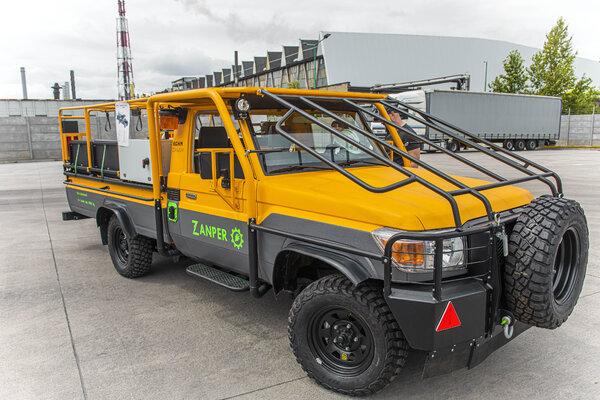 elektryczny wóz transportowy ZANPER