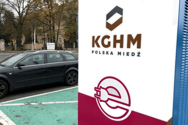stacja ładowania samochodów elektrycznych KGHM