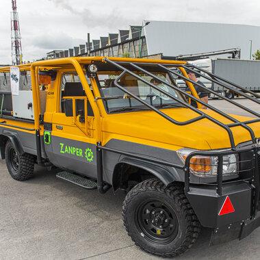 camión de transporte con accionamiento eléctrico ZANPER