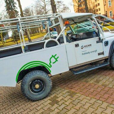 vehículo eléctrico 4x4 Sokół (Halcón)
