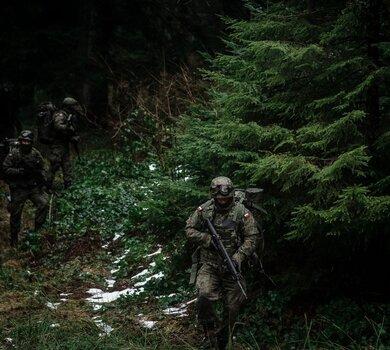 Szkolenie podkarpackich Terytorialsów