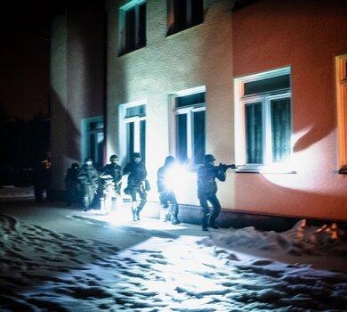 Działania nocne terytorialsów w okolicy Mielca