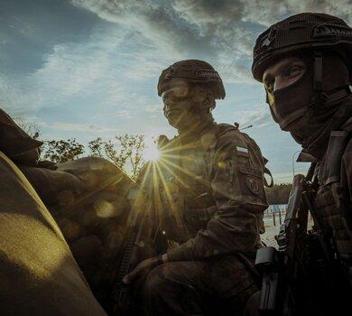 Podlascy terytorialsi w ćwiczeniu DRAGON21