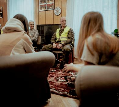 #SilneWsparcie. Terytorialsi z Podlasia w Domu Dziecka