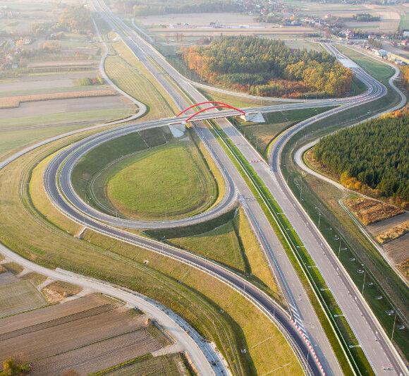 Autostrada A4-odcinek Jarosław-Radymno