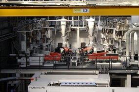 Line for production of nanoERGIS