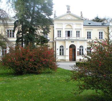 Pałac Rektorski jesienią