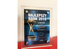 """Najlepszy Bank 2018 w kategorii """"Mały i Średni Bank Komercyjny"""""""