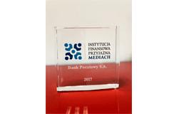 Instytucja Finansowa Przyjazna Mediacji - 2017r. - wyróżnienie przyznawane przez Komisję Nadzoru