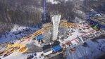 Budowa mostu typu extradosed w ciągu DK16 - okolice Ostródy.