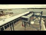 Rozbudowa infrastruktury portowej w południowej części portu w Świnoujściu. Budowa stanowiska promowego nr 1   Termin realizacji: 12.2012 - 08.2015