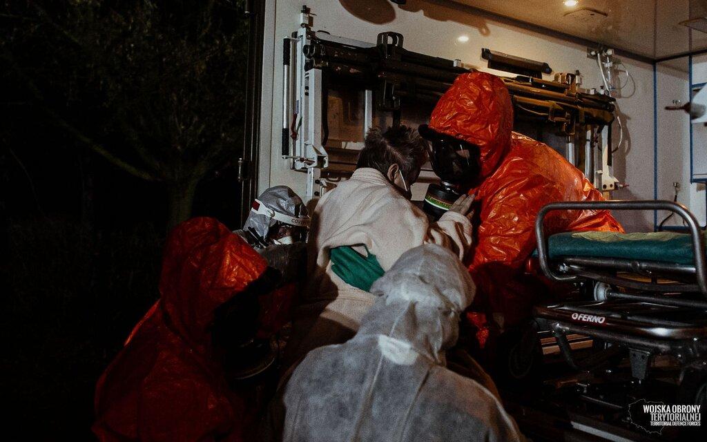 Ewakuacja Domu Pomocy Społecznej w Kaliszu, 12 Wielkopolska Brygada OT