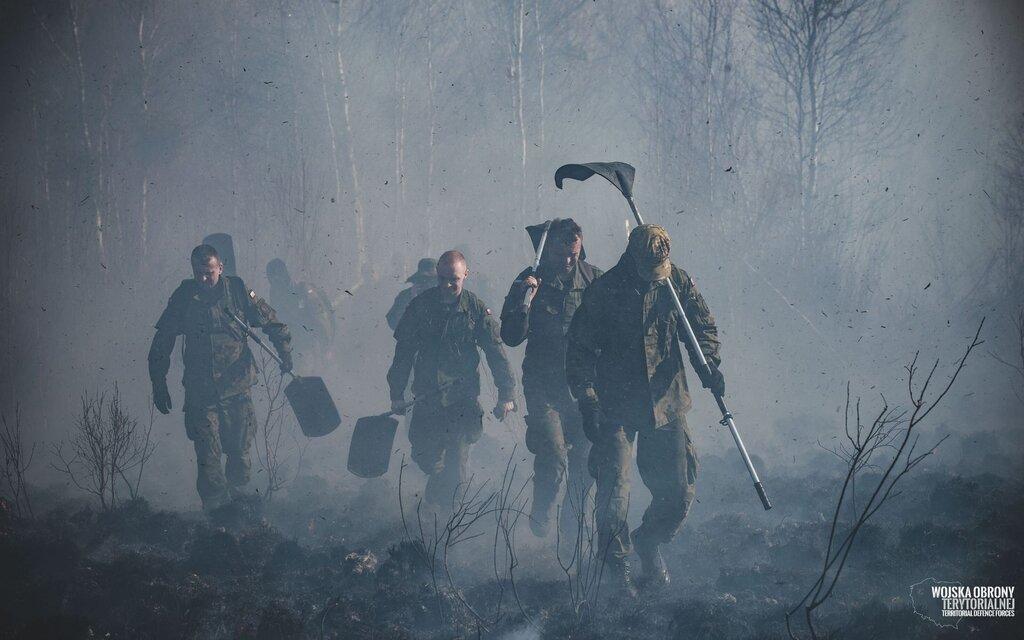 Terytorialsi w walce o Biebrzański Park Narodowy, 1 Podlaska Brygada OT
