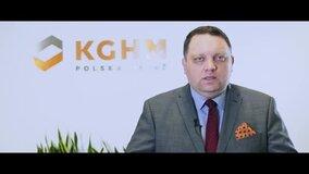 Życzenia na Dzień Hutnika Prezesa KGHM Marcina Chludzińskiego