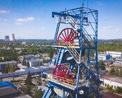 Wieża szybowa, Zakład Górniczy Sobieski w Jaworznie