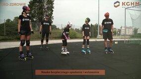 Eko-Zdrowie rolki - rozgrzewka z Natalią Czerwonką