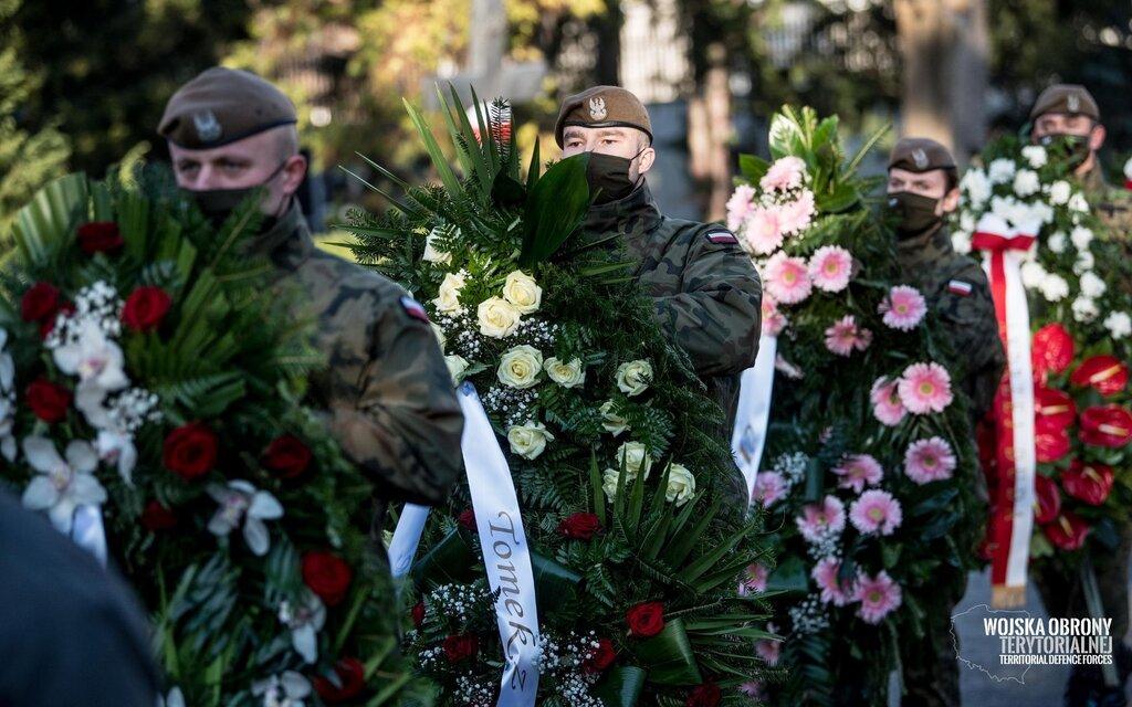 """Pogrzeb ppłk Lidii Markiewicz - Ziental ps. """"Lidka"""""""