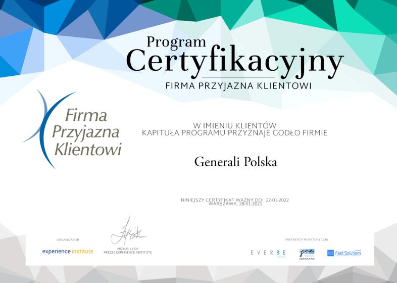 Generali Polska_Firma Przyjazna Klientowi.png
