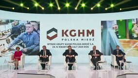 Presentation of the results of the KGHM Group for 2020