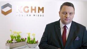Życzenia Wielkanocne Prezesa KGHM Marcina Chludzińskiego