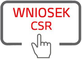wniosek csr na www zmiana kolorów