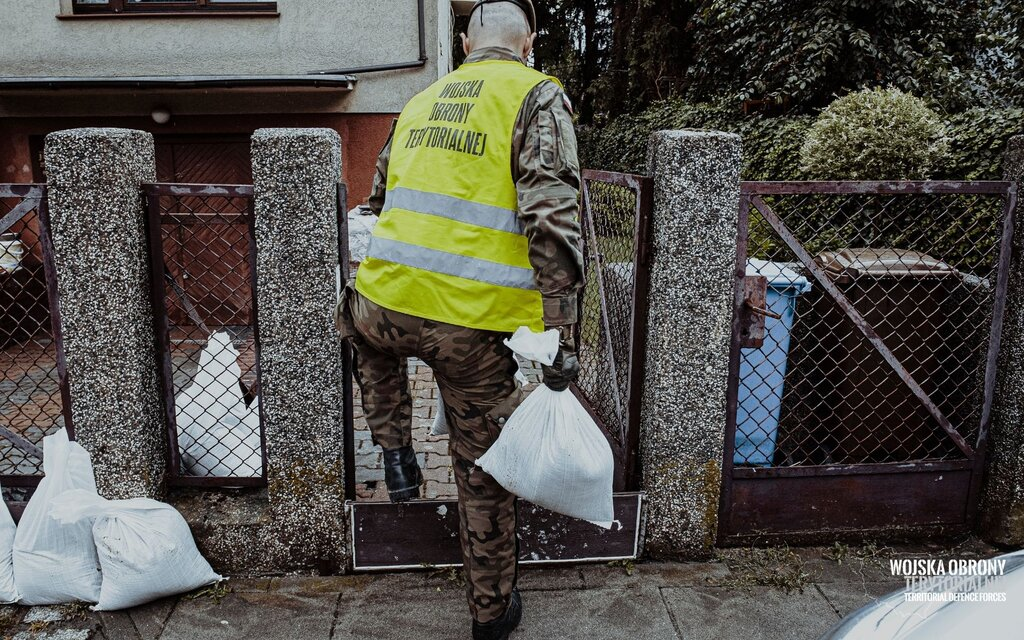 Działania kryzysowe w Szczecinie