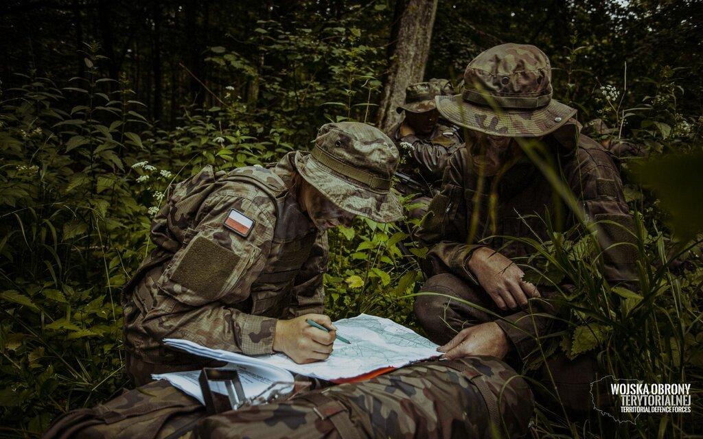 Szkoleniowy weekend terytorialsów z Warmii i Mazur