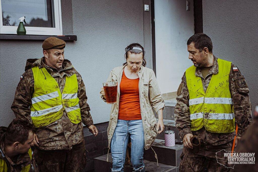 Usuwanie skutków nawałnic w Małopolsce