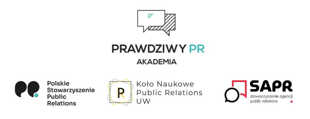 logotyy - akademia prawdziwy PR