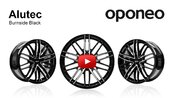 Alutec Burnside Black ● Alloy Wheels ● Oponeo™