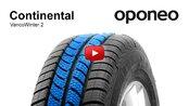 Tyre Continental VancoWinter 2 ● Winter Tyres ● Oponeo™