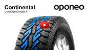 Tyre Continental ContiCrossContact AT ● Summer Tyres ● Oponeo™
