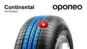 Tyre Continental 4x4 Contact ● Summer Tyres ● Oponeo™