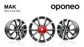 MAK Nitro 5 Ice Titan ● Alloy Wheels ● Oponeo™