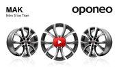 MAK Nitro 5 Ice Titan ● Alloy Wheels ● Oponeo™