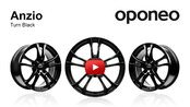 Anzio Turn Black ● Alloy Wheels ● Oponeo™