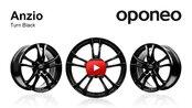 Anzio Turn Black ● Alloy Wheels ● Oponeo™